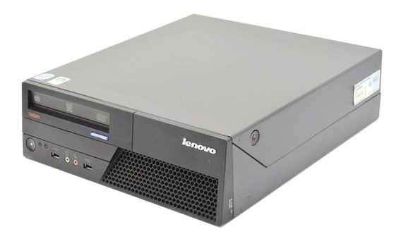 Pc Cpu Desktop Lenovo Intel Core 2 Duo 4gb Ddr3 Hd 80gb Wifi
