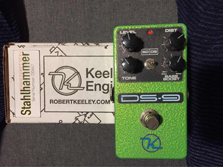 Keeley Ds9 Distortion Overdrive Guitarra Pedal Efecto