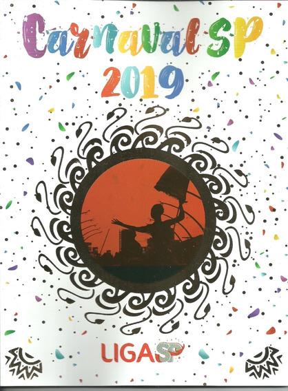 Revista Carnaval 2019 - Liga Das Escola De Sambas De Sp
