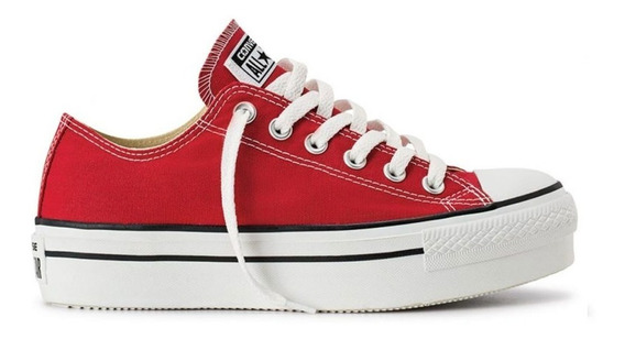 Zapatillas Converse Chuck Taylor All Star Plataforma Ox 7145