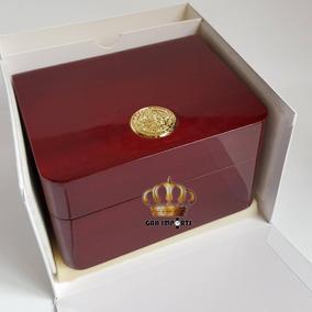 Caixa Relógio Omega - Box Estojo Completo Novo- 12x S/juros