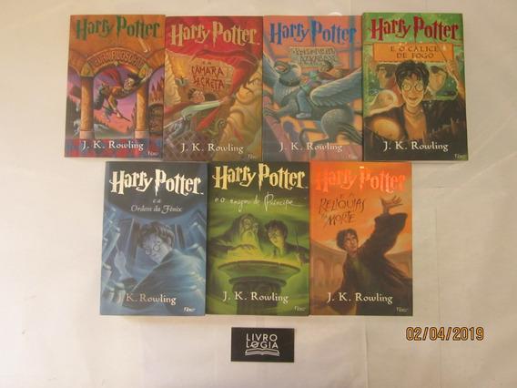 Livros Série Coleção Completa 7 Volumes Harry Potter