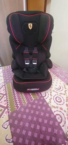 Cadeira Para Automovel Ferrari Preta 09 A 35 Kg