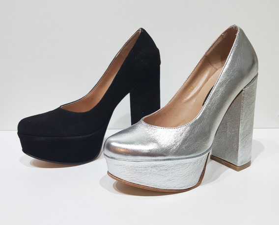 Sandalias De Fiesta Cerradas - Gamuza - Zapatos Morr 9022ad