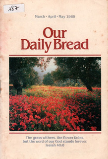 187.our Daily Bread.march-april-may.personal-family Devotion