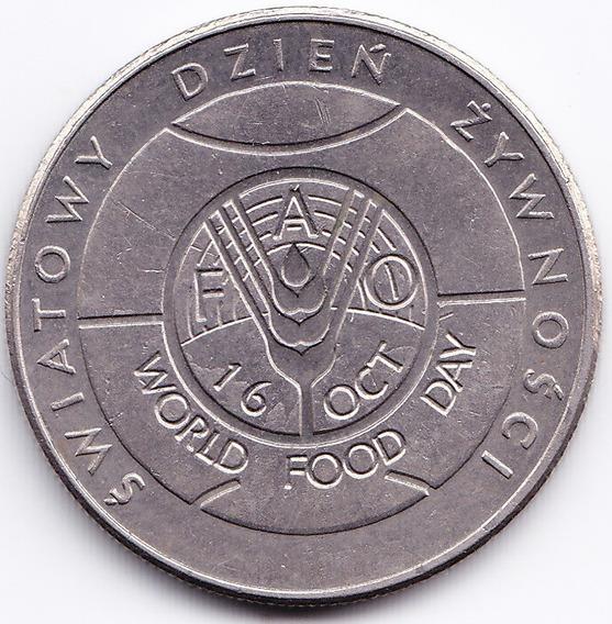 Polonia Moneda 50 Zlotych 1981 Fao Alimentacion Km 127 Unc