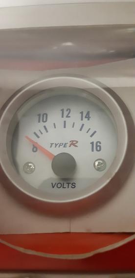 Medidor Voltaje Type R Plata Manometro 2 Volts Gauge