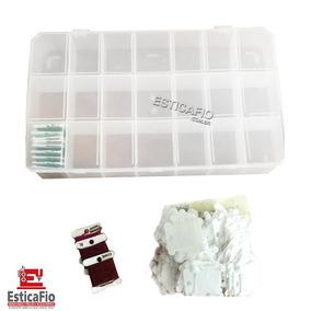 Caixa De Linha C/21 Divisórias+pacote C/100 Placas