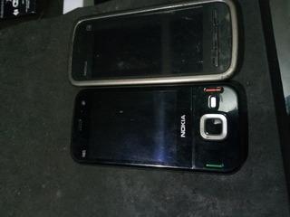 Lote 2 Celulares Nokia N85 E 5233 Defeito 1/19