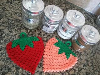 Agarraderas Tejidas Deco Hogar Crochet