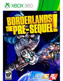 Borderlands The Pre- Sequel Xbox 360 - Nuevo!- Físico!