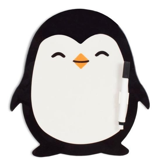 Imã Super Imã De Geladeira Porta Recados Pinguim Geguton