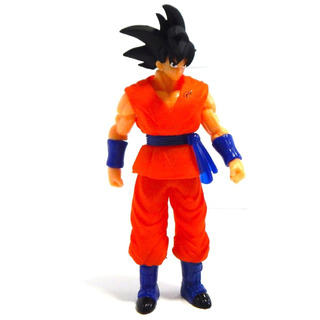 Figura Goku Dragon Ball Super Sayayin Juguete Luz Led 25cm