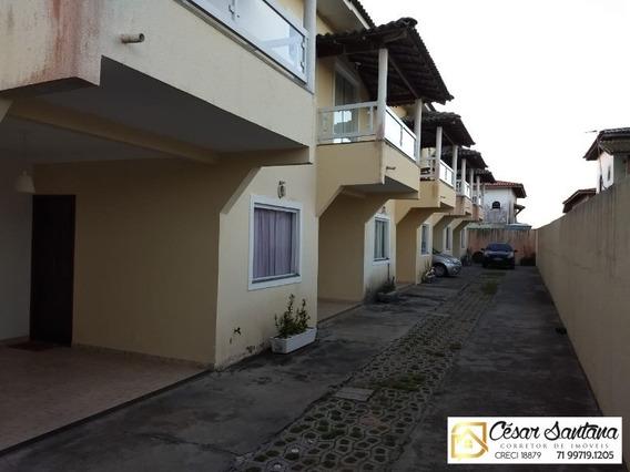 Casa 3/4 Suite E Varanda - Praia De Ipitanga - Ca00321 - 32799856