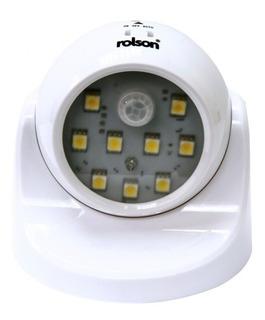 Lampara Farol Led 3w 9 Leds Smd Con Sensor De Movimiento Luz