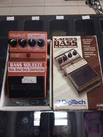 Pedal Compressor Bass Squeeze Dual Band Digitech
