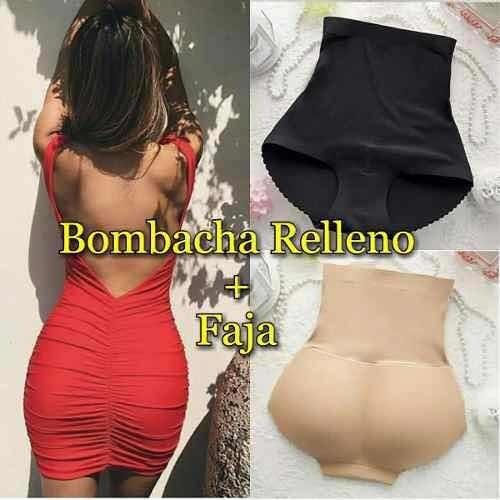 Bombacha Con Relleno Y Faja Alta, Levanta Cola, Original!!