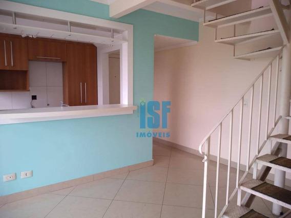 Apartamento Duplex Com 2 Dormitórios À Venda, 120 M² Por R$ 600.000 - Vila Osasco - Osasco/sp - Ad0016. - Ad0016