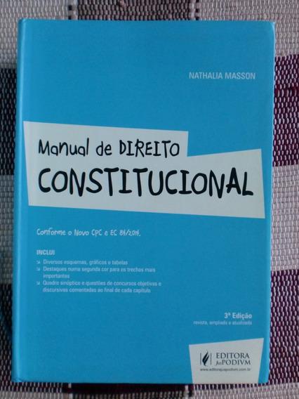 Manual De Direito Constitucional - Nathalia Masson