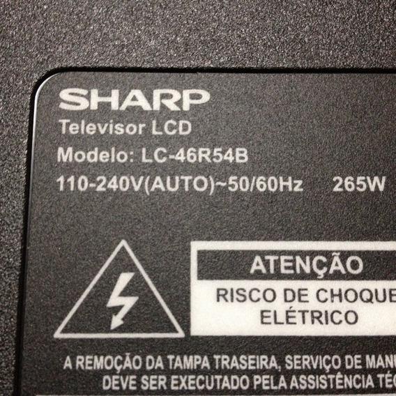Tela Display B3ku46r54r Para Tv Sharp Lc - 46r54b
