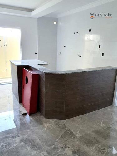 Imagem 1 de 9 de Apartamento À Venda, 46 M² Por R$ 400.000,00 - Campestre - Santo André/sp - Ap2562