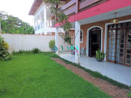 Ubatuba Linda Casa 4 Suítes  A Venda 150 Metros Da Praia ,vista Para O Mar - Cod_cas-su