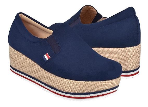 Zapatos Casuales Para Dama Stylo 6002 Marino