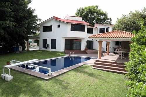 Hermosa Residencia En Lomas De Cocoyoc