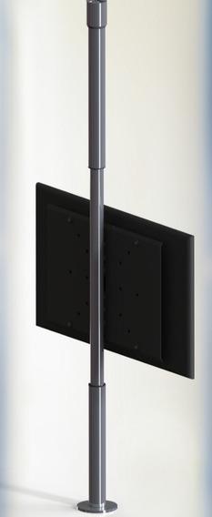 Suporte Giratório Móvel Teto P/ Tv De 32 A 65 C/ Regulagem