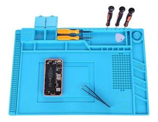 Manta Magnética Antiestática Silicone Azul Yaxun S-160