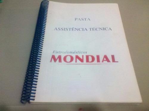 Apostila Assistência Técnica Eletrodomésticos Mondial.
