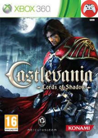 Saga Castlevania Mídia Digital Xbox 360