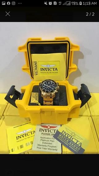 Relógio Top Invicta Pro Driver 18k