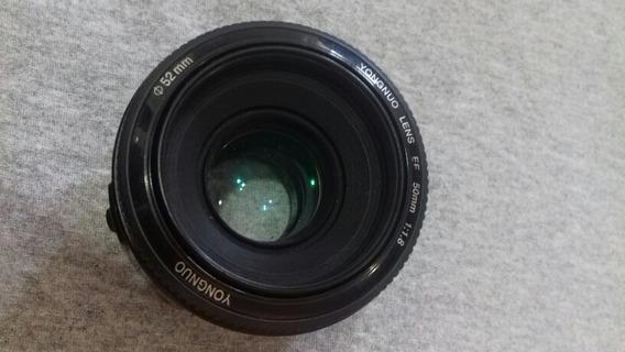 Lente Yongnuo Canon 50mm