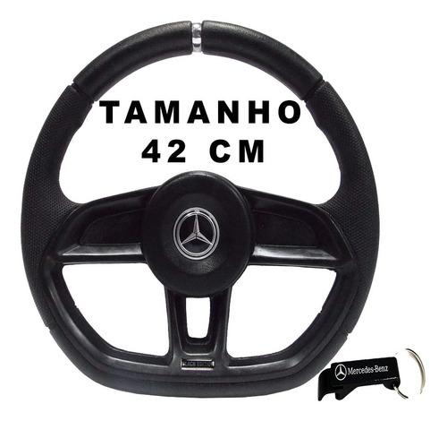Volante De Caminhão Mb Mercedes Benz Mb 180 Gti Black 42cm