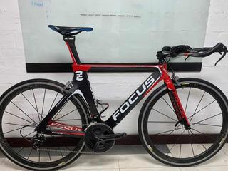 Bicicleta Focus Carbon Chrono Talla M. Usada