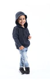 Blusa De Inverno Infantil Masculino