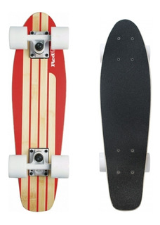 Skate Mini Cruiser Penny Red Nose Bambu Old School Longboard Prof