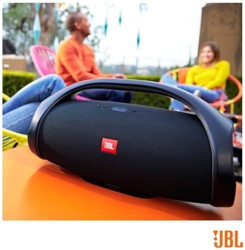 Caixa De Som Boombox Grande Potente Bluetooth Nova 60w 32cm