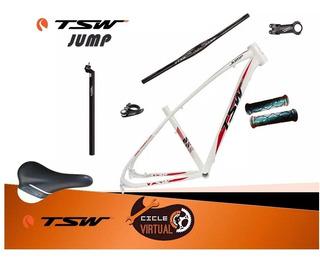 Quadro Tsw Jump 29 Kit+canote+braçadeira+guidão+mesa ,17,