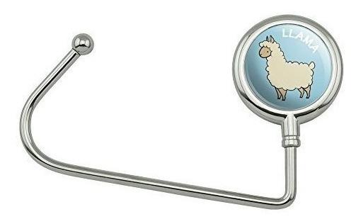 Llama - Perchero Para Bolso, Diseño De Dibujos Animados