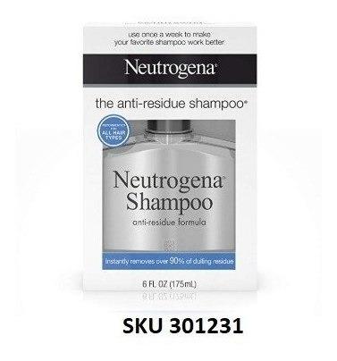 Neutrogena Anti-residue Shampoo, 6 Fl. Onz. W01