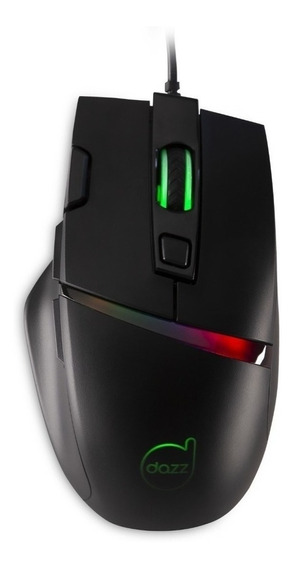 Mouse Gamer Dazz Legacy 6400 Dpi 625241