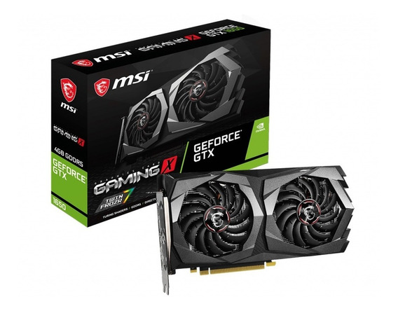 Tarjeta De Video Msi Geforce Gtx 1650 Gaming X 4g
