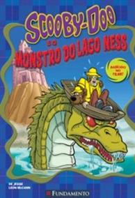 Livro Scooby-doo E O Monstro Do Lago Ness-jesse Leon Mccann