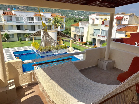 Villa La Palma Diamante, 3rec\3wc, 8-10 Personas, Alberca, Seg 24 Hrs