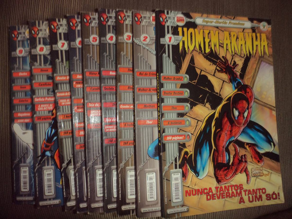 Super Herois Premium Homem Aranha 1 A 17 Completa Excelentes