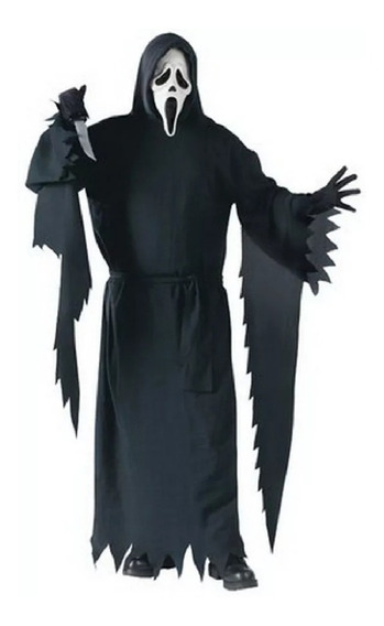 Disfraz Traje Adulto Scary Movie Ghost Face Fantasm Hallowee