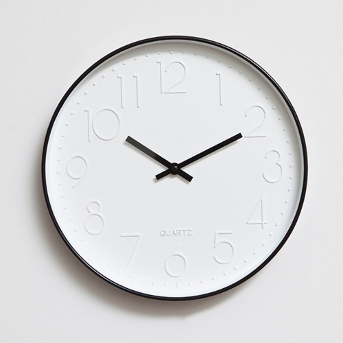 Reloj Pared Home Office Room Modern Silent Non Ticking