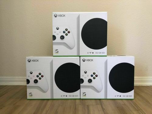 Imagen 1 de 1 de  Microsoft Xbox Series S 512gb Video Game Console White